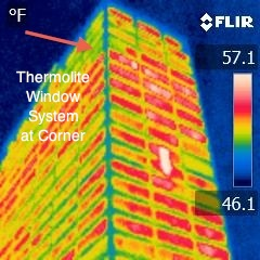 Energy window system triples insulation value in single pane glass buildings.