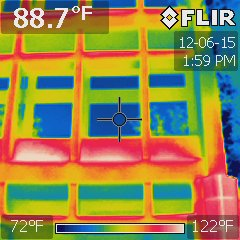Foley Federal Building exterior thermal imaging study